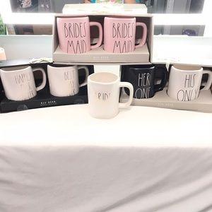 Rae Dunn Wedding Collection Mugs - Bride
